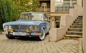 Picture background, car, classic, Lada, Lada, vaz, low classic, Resto, VAZ 2103