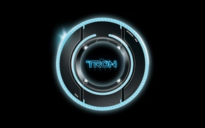 Picture neon, disk, the throne, heritage