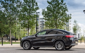 Picture Mercedes-Benz, Mercedes, AMG, Coupe, UK-spec, 4MATIC, 2015, C292, GLE