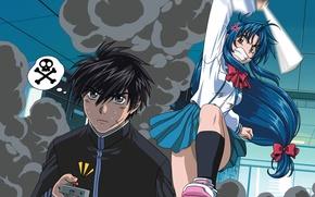 Picture anime, Full Metal Panic, Chidori Kaname, Metal panic, Sagara, Sosuke