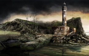 Picture the game, art, Dear Esther, Dear Esther, interactive story