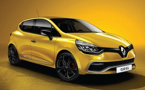 Picture Machine, Machine, Renault, Clio, Car, Yellow, Car, Reno, Cars, Yellow, Cars, RS 200, Clio, RS …