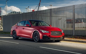 Picture red, infiniti, infinity, q50