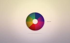 Picture the inscription, patterns, paint, rainbow, range, minimalism, colors, rainbow, words, minimalism, patterns, words, 1920x1080, lettering, ...