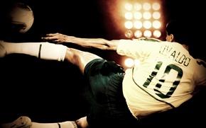 Picture Wallpaper, 2002, striker, Brazilian footballer, Rivaldo