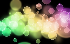 Picture light, circles, abstraction, patterns, paint, colors, light, circles, patterns, 1920x1200, bokeh, bokeh, abstraction