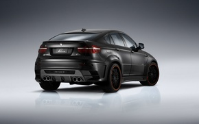 Picture BMW, black, black, tuning, zatonirovany, clr x 650m