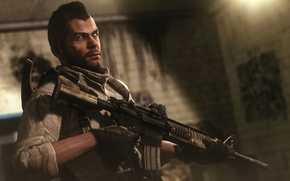 Picture soldiers, Soap, Call of Duty: Modern Warfare, John MacTavish