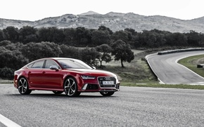 Wallpaper Audi, Audi, Sportback, RS 7