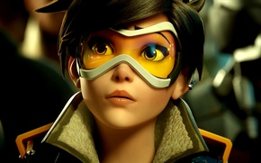 Picture Blizzard Entertainment, Overwatch, Tracer, Tracer