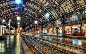 Picture Train, Milan, Milano, Architecture, Railroad