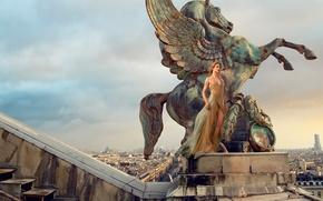 Picture photoshoot, Natalia Vodianova, Vogue