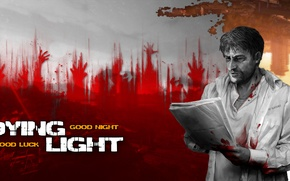 Picture The city, The game, Blood, Apocalypse, Zombies, Turkey, Black and white, Dying Light, Dying Light