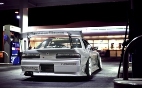 Picture dressing, Machine, Silvia, Nissan, Nissan, Tuning, JDM, 180sx