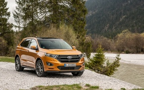 Wallpaper Ford, edge, Edge, crossover, Ford