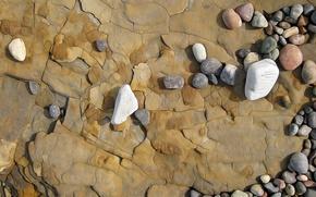 Picture rock, stones, rendering, figure, vector
