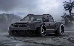 Picture Toyota, Black, Tuning, Future, SUV, Tacoma, by Khyzyl Saleem, Powered