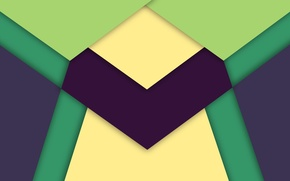 Picture line, blue, green, Android, geometry, material