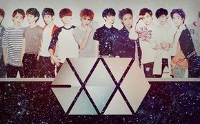 Picture kpop, exo m, luhan, sehun, exo k, exo