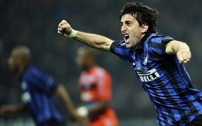 Picture Wolf, black, blue, Inter, Inter, Nike, Rambo, Pirelli, International, Internazionale, Prince, Douglas Maicon, Douglas Maicon, …
