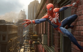 Picture Sony, Marvel, Game, Spider Man, PS4