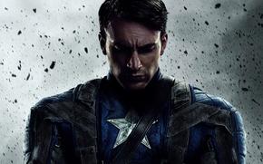 Picture fiction, comic, Captain America, Chris Evans, The first avenger, Chris Evans, Steve Rogers, Captain America: …