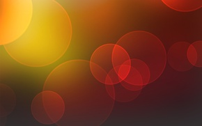 Picture color, circles, texture, brightness