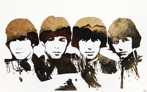 Picture The Beatles, rock, figure, legends, Beatles, The Beatles, music, talent