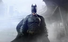 Picture 2008, Dark, City, Movies, 2012, Hero, The Dark Knight, Batman, Legendary Pictures, Bridge, Street, The, ...