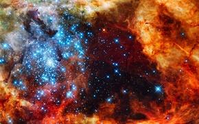 Picture stars, nebula, nebula, infinity