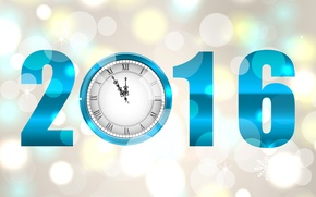 Picture watch, New year, New Year, 2016