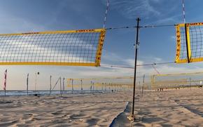 Picture beach, sport, Beach volleybal