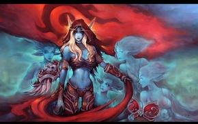 Picture World of Warcraft, warcraft, wow, art, Sylvanas Windrunner, Sylvanas