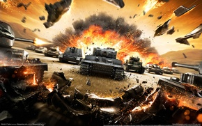 Picture tanks, games, world of tanks