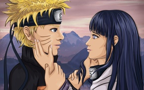 Picture Love, Love, Tenderness, Naruto, Naruto, Naruto Art, 2D art, Illustration, Naruto Art, Naruto and Hinata, …