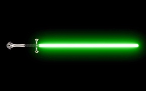 Picture lightsaber, movies, LOTR