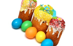 Picture photo, Easter, Eggs, Holiday, Food, Cake, Cakes