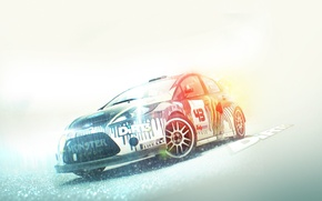 Picture dirt, drift, game