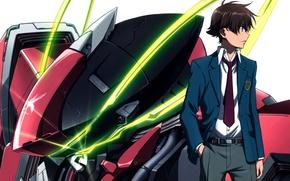 Picture tie, combat robot, kakumeiki valvrave, haruto tokishima, student