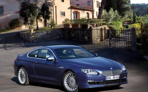Picture photo, Blue, BMW, Tuning, 2012, Car, Coupe, Bi-Turbo
