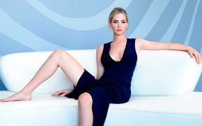 Picture neckline, legs, Jennifer Lawrence, Jennifer Lawrence, 2015, Dior