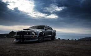 Picture Car, Muscle, Aristo, 281, Grey, Collection, Boss, San Francisco, Front, Mustang, Ford