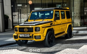 Picture Mercedes, Benz, DMC, Yellow, Tuning, Limited Edition, Mercedes Tuning, DMC Mercedes-Benz G88 Limited Edition, G88, …