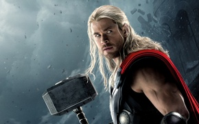 Picture Action, Fantasy, Clouds, Sky, Hero, Lightning, the, Wallpaper, Blonde, Super, Thor, Boy, God, Year, EXCLUSIVE, …