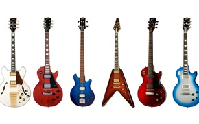 Picture tool, electric guitar, collection, Gibson, bass guitar