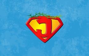 Picture superman, sky, hero, God, king, Jesus