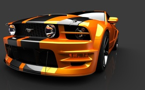 Picture Ford, mustang, Orange county