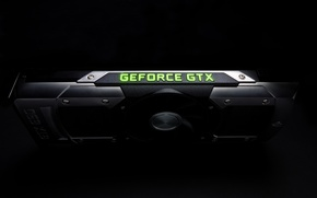 Picture Nvidia, video card, GeForce GTX 690