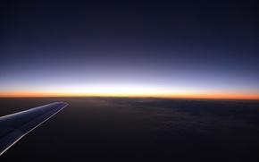 Picture the sky, the sun, light, snow, mountains, lights, lights, sunrise, rocks, wing, horizon, light, flight, …