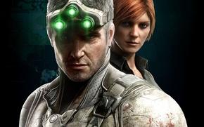 Picture Tom Clancy, Sam Fisher, Ubisoft, Blacklist, Splinter Cell, stealth